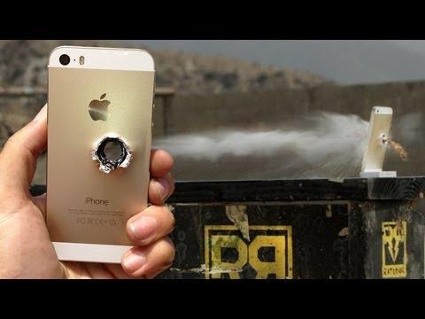 Dùng Súng Bắn Tỉa Phá Nát Iphone :( Cuộc Đời Bất Công Vl Vậy :(
