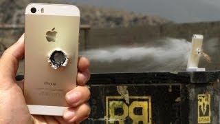 Đủ các thể loại tra tấn iPhone 5s: rơi, nhúng vào nước và đạn bắn xuyên qua :|
