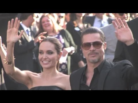 BRAD PITT and ANGELINA JOLIE attend 'Maleficent' premiere in Hollywood