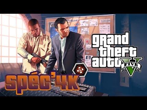 |►| Spéc'4K GTA V Toutes les courses L2O en une vidéo !