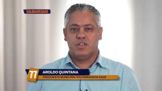 Programa de Televisão – Aroldo Quintana