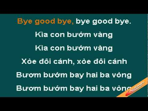 Kia Con Buom Vang Karaoke - Xuan Mai - CaoCuongPro