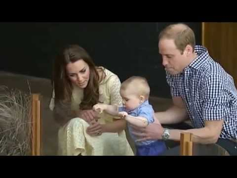 Prince George's first year scrapbook