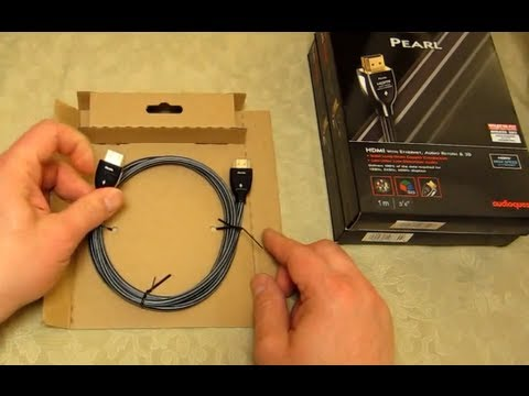 Audioquest Pearl HDMI 1.4 cable - How to ensure you have a genuine product & not a fake - In detail