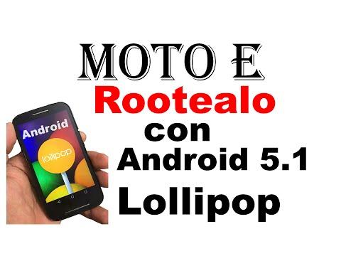 como hacer root moto E android 5.1 Lollipop facil rapido y seguro