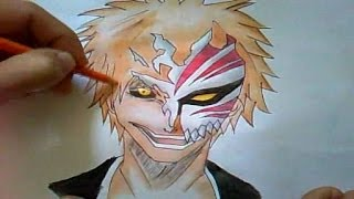 Como Desenhar Bleach Hollow Ichigo