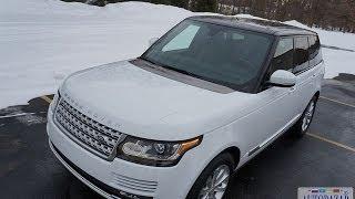 2014 Range Rover HSE  тест драйв. Видео Рендж Ровер 2014