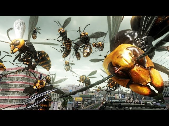 Earth Defence Force 2025 The bugs are back Trailer