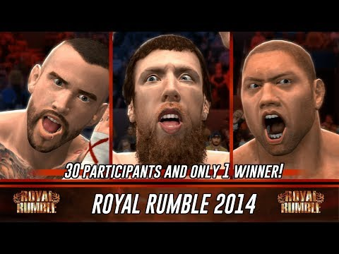 WWE 2K14 Royal Rumble 2014 Full Match Simulation (Winner Prediction)
