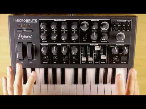 Arturia Microbrute - 25 Key Analogue Synthesizer Keyboard