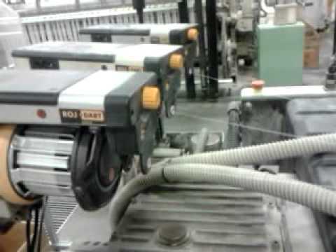 maquina que faz tecido