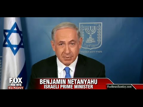 • Benjamin Netanyahu • Full Interview • Fox News Sunday • 7/13/14 •