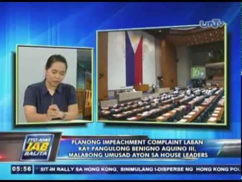 Planong impeachment vs Pres. Aquino, malabong umusad ayon sa house leaders