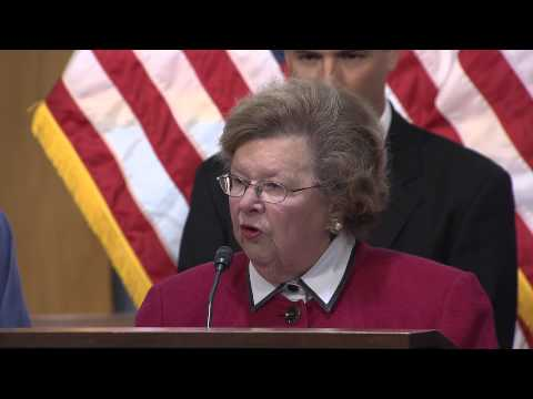 Mikulski, Democratic Senators, Furloughed Federal Employees Discuss Impact of Government Shutdown
