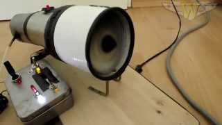 Homemade jet engine (hybrid)
