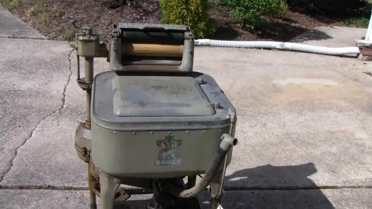 1920 Washing Machine ~ Antique s maytag washing machine youtube