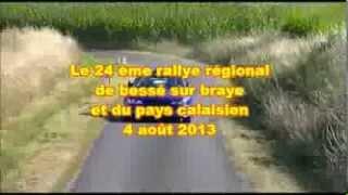 Vidéo Rallye de Bessé sur Braye 2013