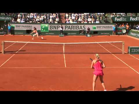 2014 French Open shots of day 12