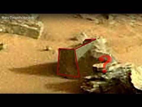 Mars Curiosity,Horizon,12 octobre 2015,Anomalies