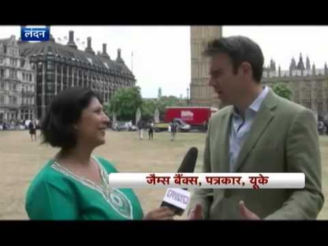 NEWSROOM UK:  GANDHI STATUE London