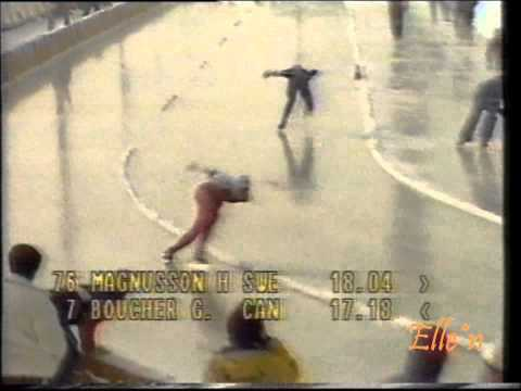 Olympic Winter Games Sarajevo 1984 – 1000 m Magnusson – Boucher