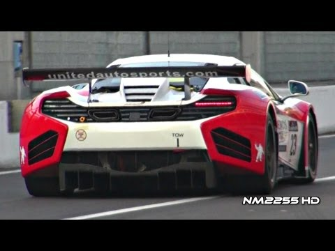 McLaren MP4-12C GT3 INSANE SOUND!
