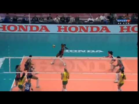 República Dominicana x Brasil - World Grand Prix 2014
