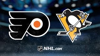 Flyers score four in 3rd, cruise past Pens, 6-2