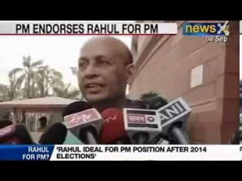 NewsX: Rahul Gandhi ideal  for Prime Minister position after 2014.