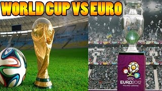 WORLD CUP VS EURO!! FIFA 14