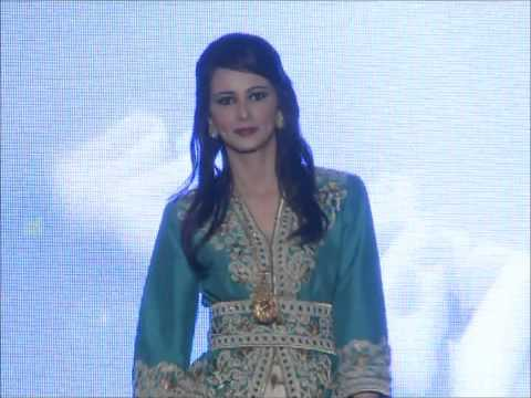 Défilé de mode traditionnel algérien de la collection AZEADE organisée par magazine DZERIET