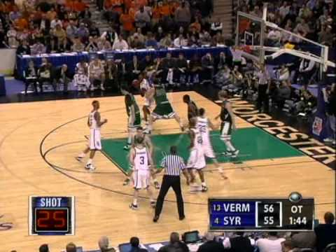 T.J. Sorrentine stuns Syracuse (2005 NCAA Tournament 1st Round)
