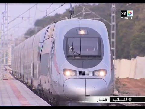 انطلاقة القطار فائق السرعة TGV يبدأ التجارب الأولى