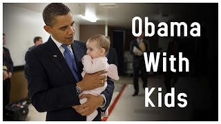 President Obama's Best Moments With Little Kids