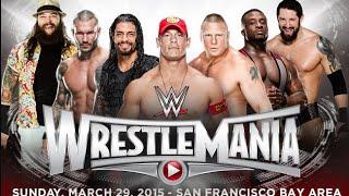 Wrestlemania 31 plans