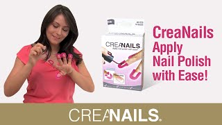 CreaNails How To Paint Your Nails At Home ! DIY Perfect Nails!
