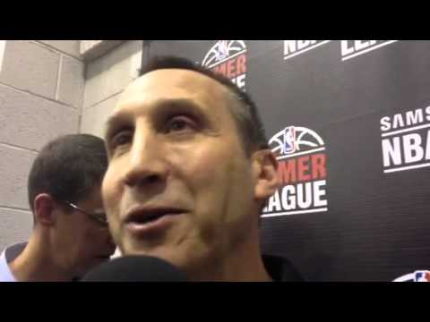 David Blatt on LeBron's decision to return to Cavaliers