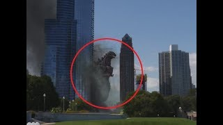 10 GODZILLA CAUGHT ON CAMERA & SPOTTED IN REAL LIFE!