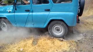 UAZ 31514  only with rear traction