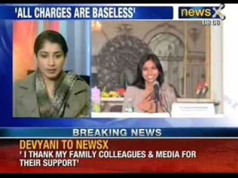 Devyani Khobragade speaks exclusively with NewsX