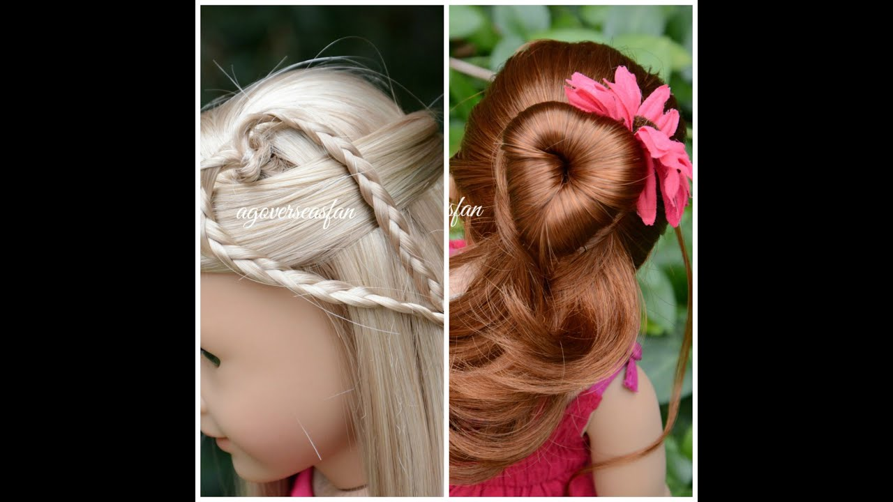 cute hairstyles for black females : Simple Fun Easy American Girl Doll Hairstyles hnczcyw.com