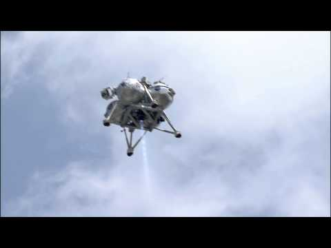Morpheus Makes Free Flight at Kennedy Space Center
