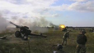 Навчання артилеристів на Херсонщині