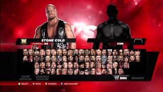 WWE 2K14 ALL CHARACTERS UNLOCKED
