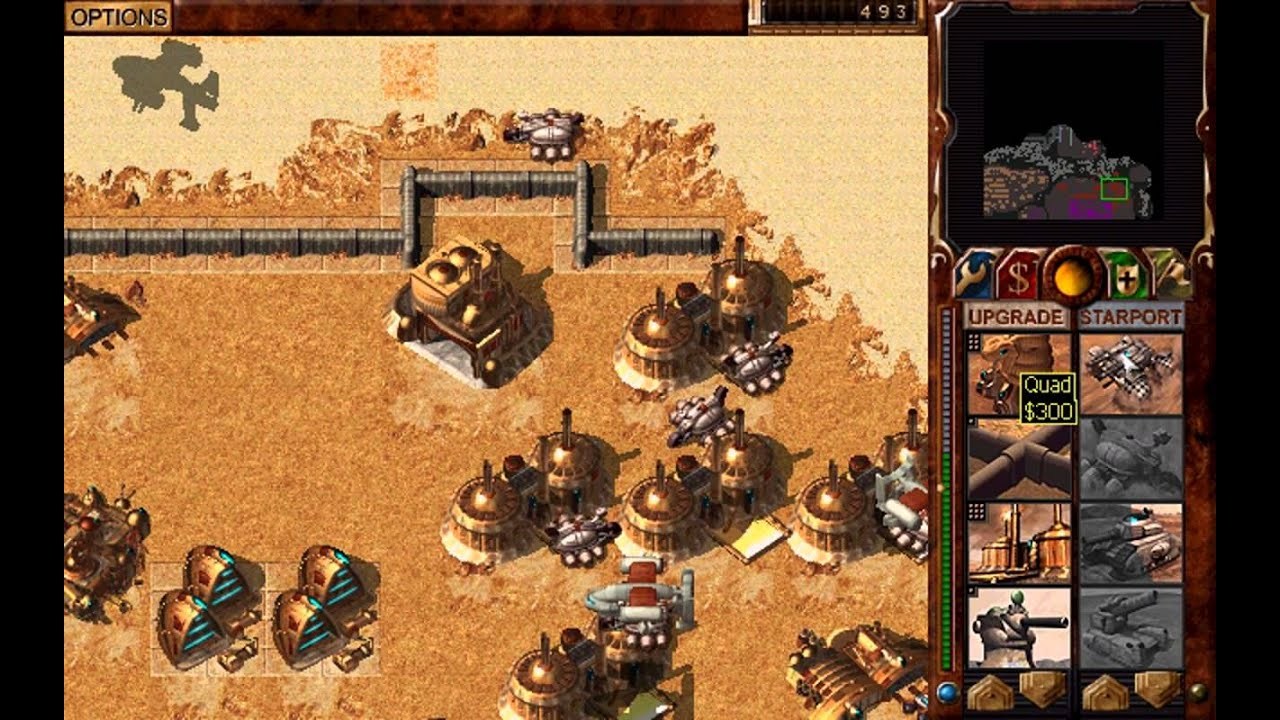 Dune 2000 Smugglers Campaign Mission 6 [Easy Settings] - YouTube