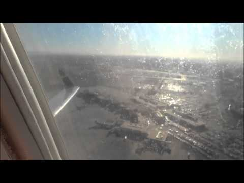 January 2012 US Airways Express CRJ 200 Takeoff El Paso, TX to Phoenix, AZ RWY 22