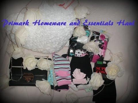 Primark Homeware and Essentials Haul