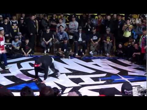 HONGKONG VS CHINA ALLSTARS | BBOY IN SHANGHAI 2014