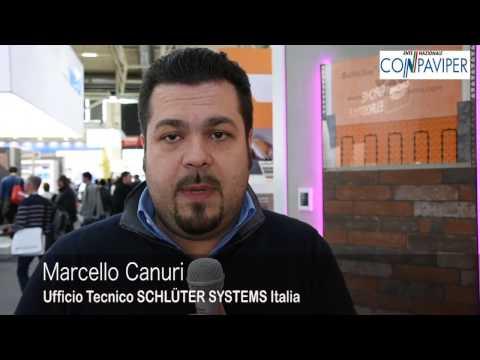 BAU 2017: Marcello Canuri di SCHLÜTER SYSTEMS