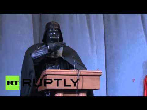Darth Vader announces he's running for president of Ukraine